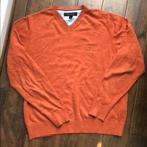 TOMMY HILFIGER BRICK PULLOVER SWEATER